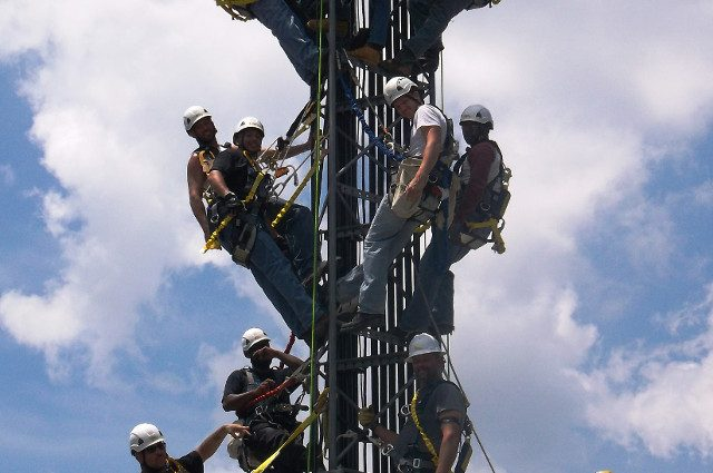 Tech Safety Climbing Training