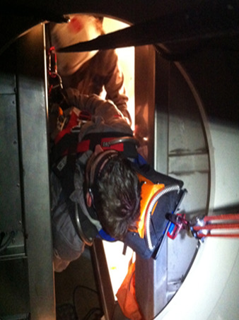 Blade Extraction Amp Confined Space Entry Training Tech