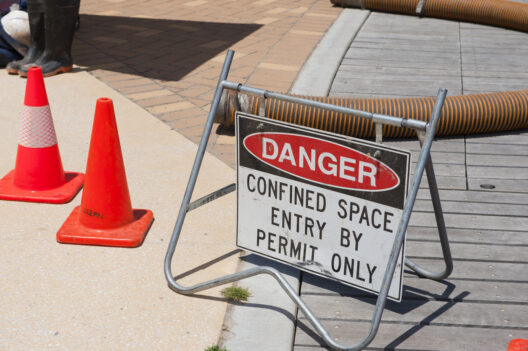 Confined Space Entry Permit Required