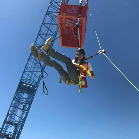 Work At Height Self-Rescue StepWise Fall Arrest Lanyard